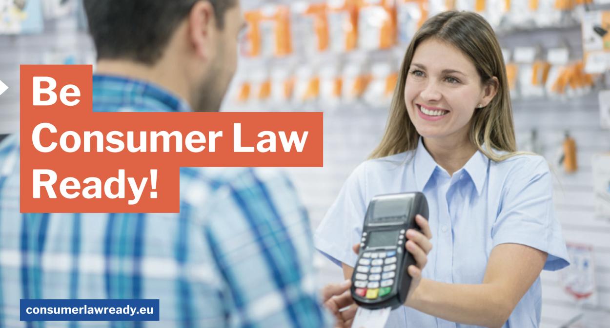 Δίκαιο του καταναλωτή, Ηλεκτρονικό εμπόριο, Μικρομεσαίες επιχειρήσεις, Εκπαίδευση, ΕΚΠΟΙΖΩ, Consumer Law Ready